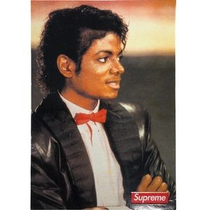 Supreme x Michael Jackson Sticker